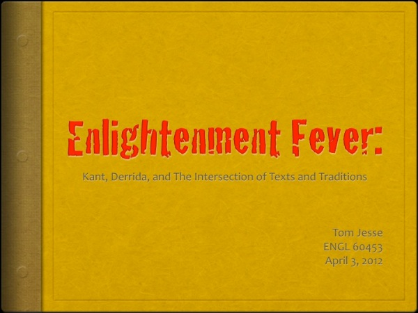 Enlightenment Fever