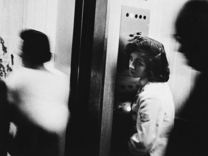 "Robert Frank's ""Elevator -- Miami Beach, 1955"""